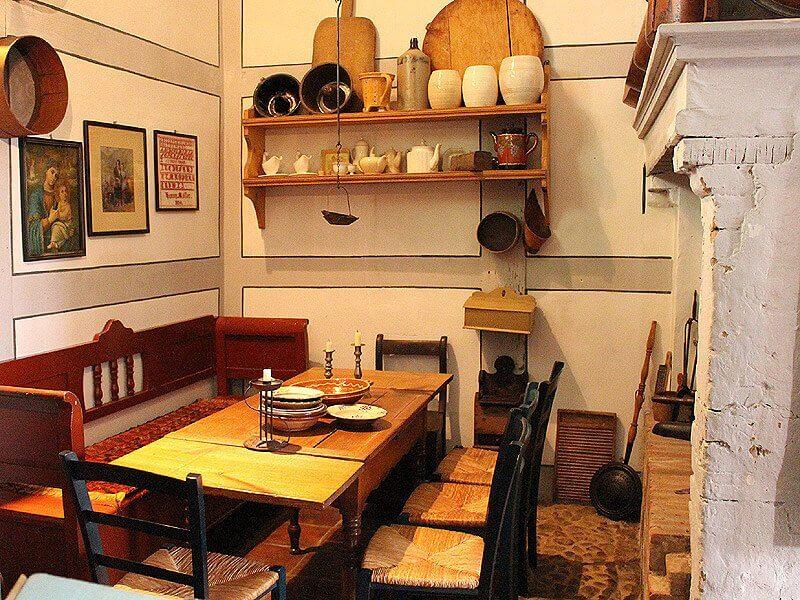 Esszimmer im Alten Kaufmannshaus