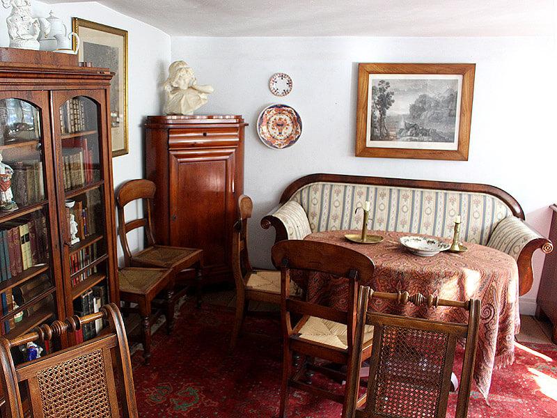 Historische Einrichtung im Alten Kaufmannshaus