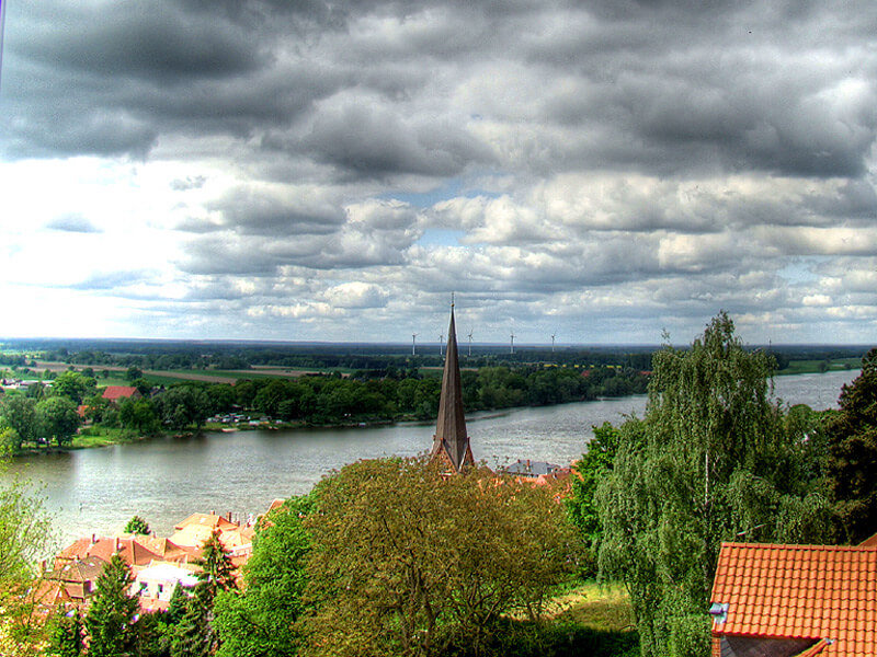 Blick vom im Schlossturm