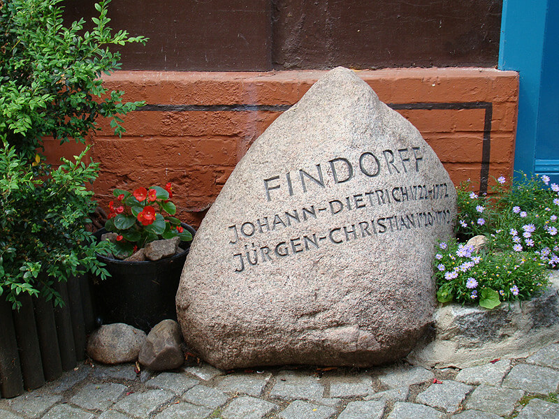 Gedenkstein am Findorff-Haus