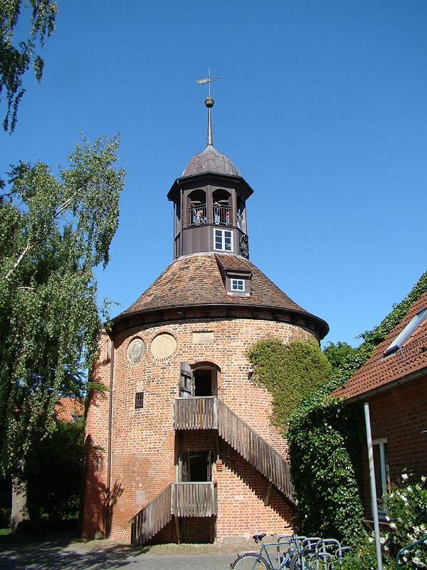 Der Schlossturm in Lauenburg