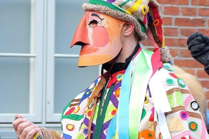 Die Lustige Person bei der Schipperhöge in Lauenburg