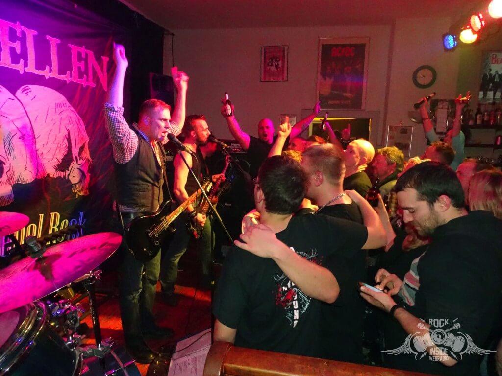 Die Lauenburger Band Elbrebellen in Aktion