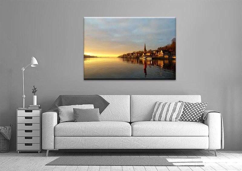 Impressionen Lauenburg-Bild für Wand