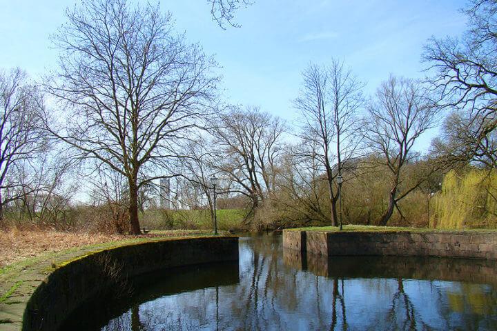 Palmschleuse in Lauenburg