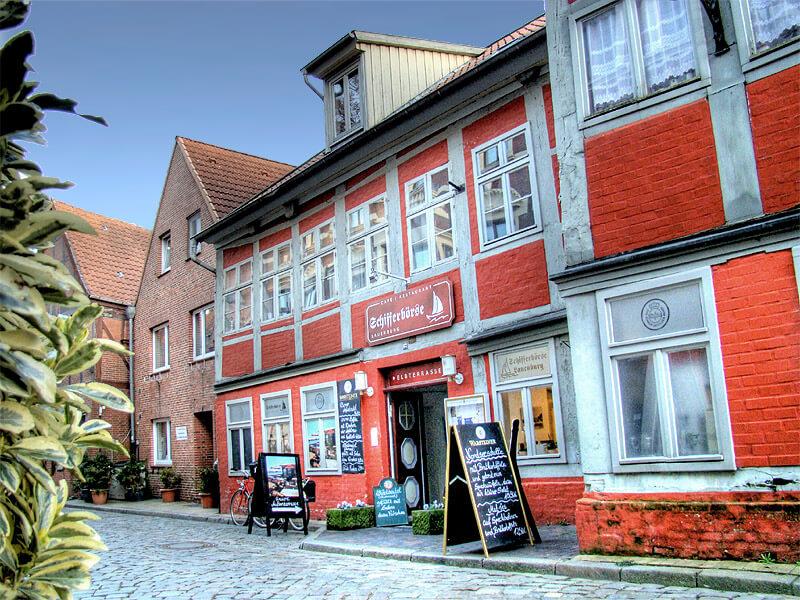 Restaurant Schifferbörse in der Altstadt von Lauenburg