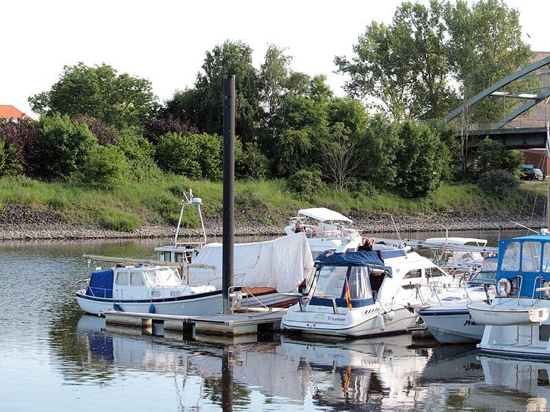 Yachthafen der Marina Lauenburg