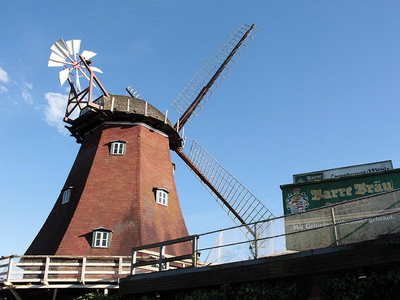 Die Lauenburger Mühle ist Museum, Hotel und Restaurant