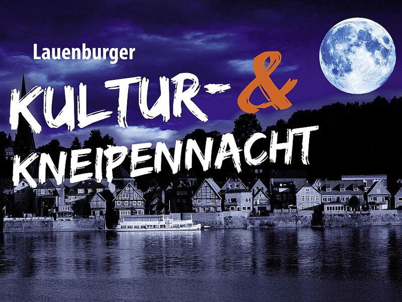 Logo Lauenburger Kultur- und Kneipennacht