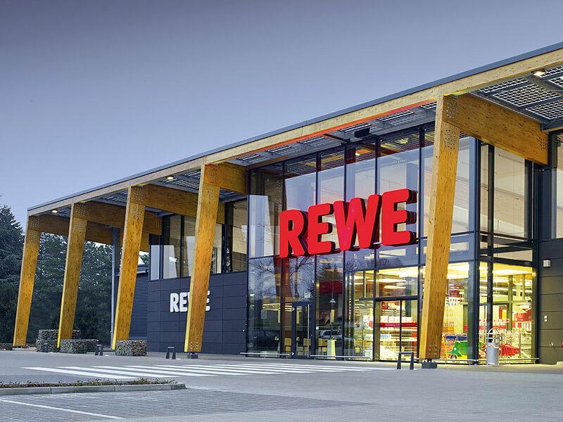 REWE Neubau in Lauenburg als Green Building