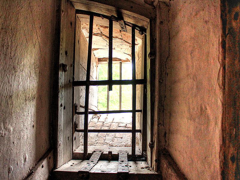 Fenster im Lauenburger Schlossturm