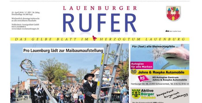 Zeitung Der Rufer