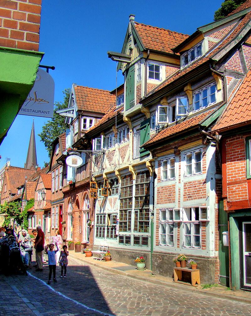 Brau- und Brennhaus in der Altstadt von Lauenburg