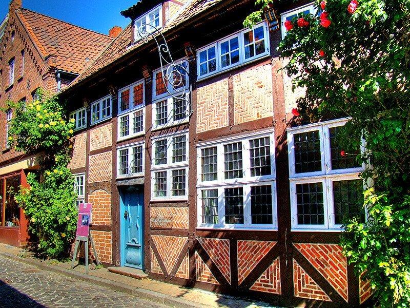 Das Alte Kaufmannshaus in der Altstadt von Lauenburg