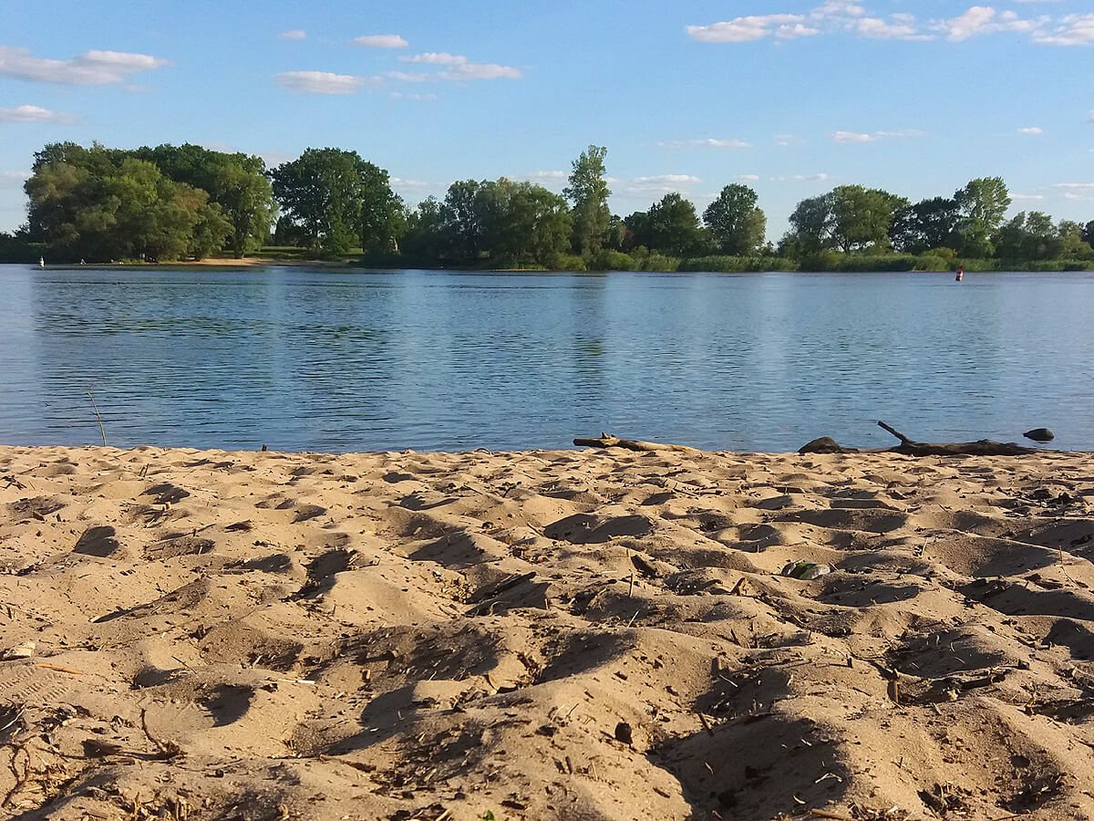 Perfektes Strandfeeling in Lauenburg