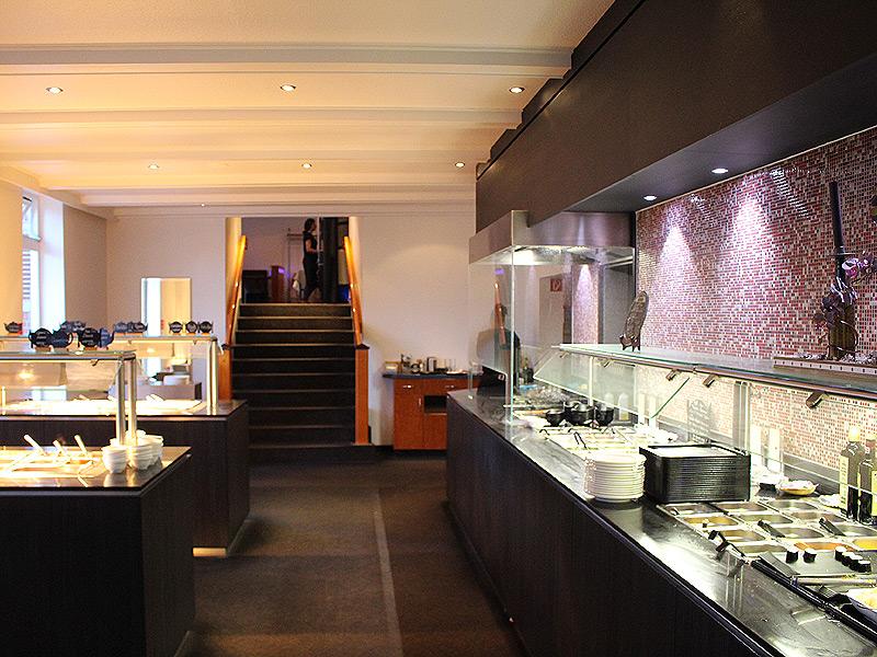 Buffet im Chinarestaurant Shun Lam in Lauenburg