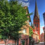 Kirche in der Altstadt von Lauenburg