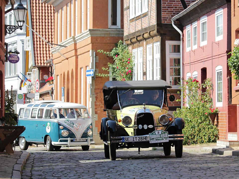 Willys-Overland Whippet - Hamburg-Berlin-Klassik durch Lauenburg