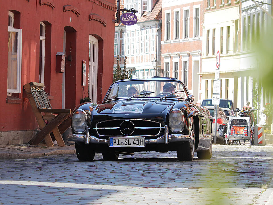 Hamburg-Berlin-Klassik durch Lauenburg