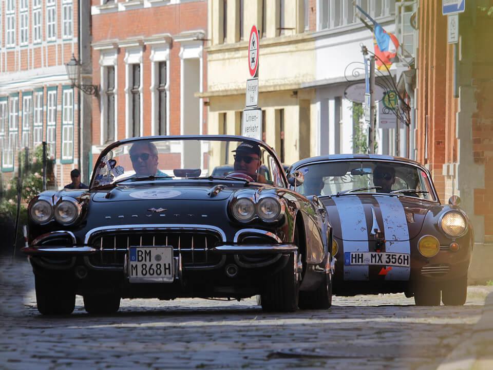 Rallye Hamburg-Berlin-Klassik durch Lauenburg