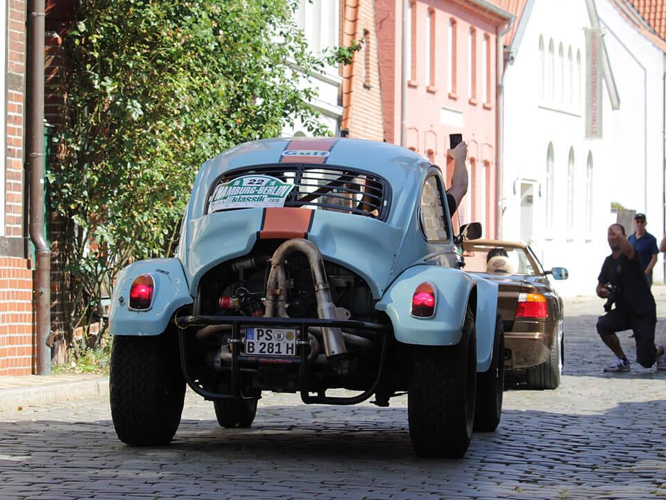 Baja Bug - Rallye Hamburg-Berlin-Klassik durch Lauenburg