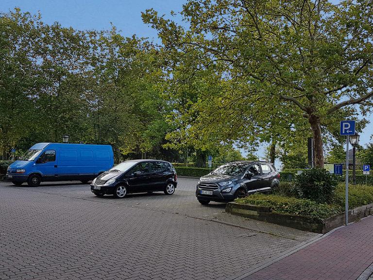 Parkplatz am Fürstengarten