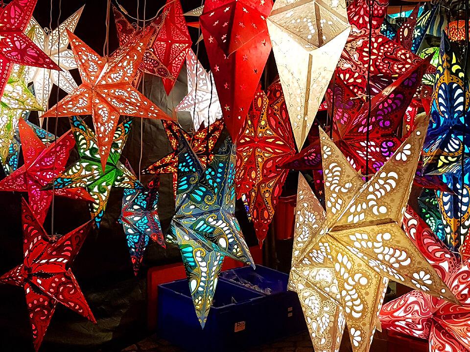 Kunsthandwerk auf dem Weihnachtsmarkt in Lauenburg