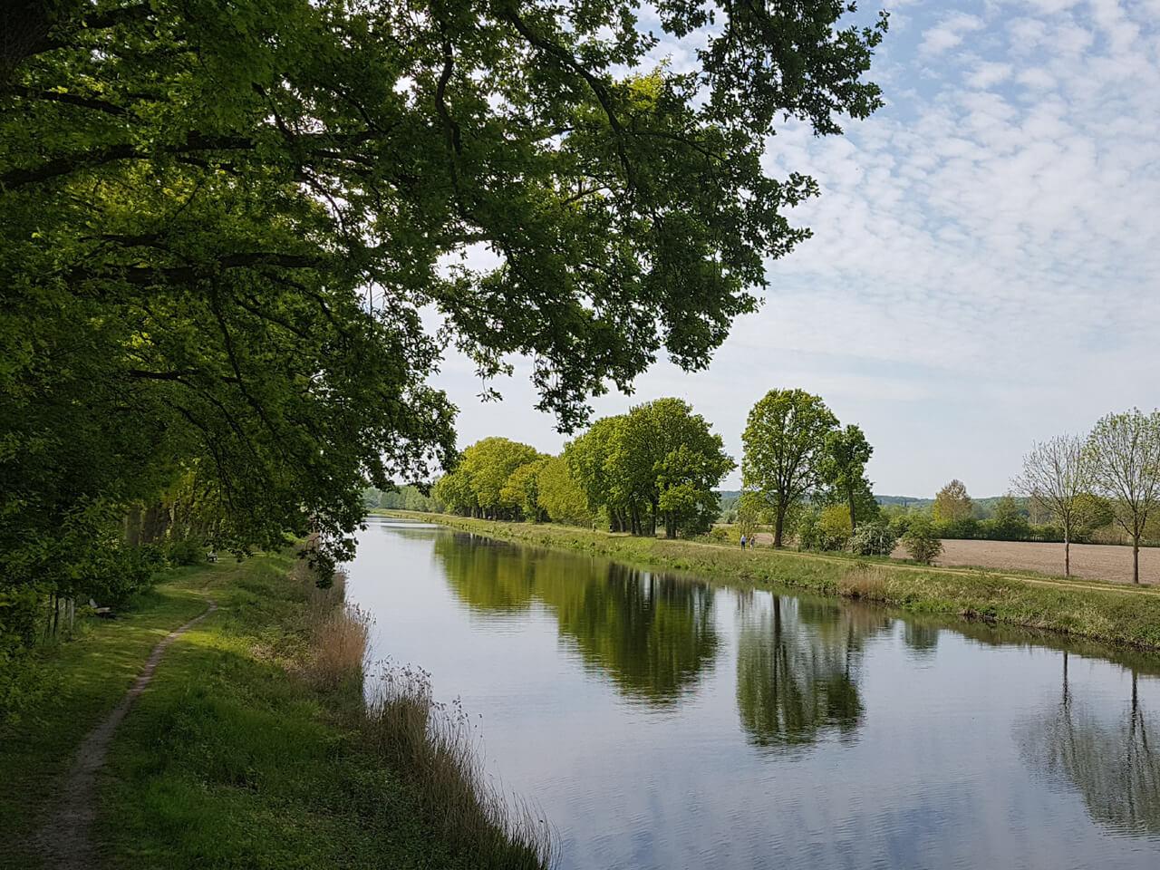 Spaziergang am Elbe-Lübeck-Kanal