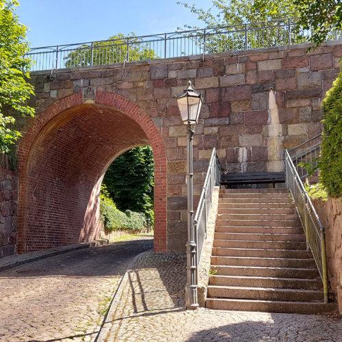 Friedrichsbrücke Hohler Weg in Lauenburg