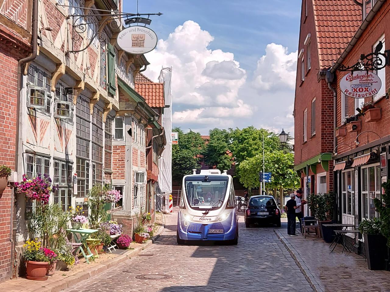 TaBuLa - Im fahrerlosen Bus durch Lauenburg